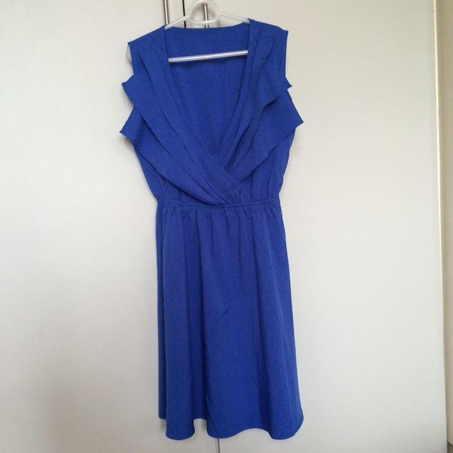 Unbranded Blue Dress S-M