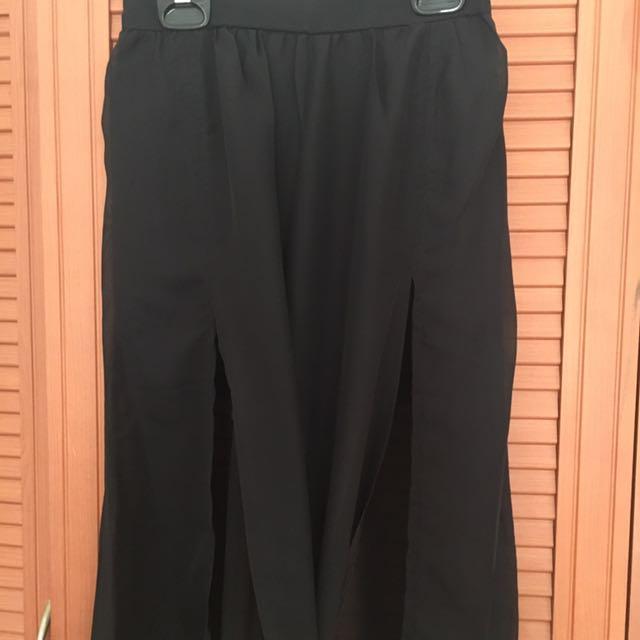 Unbranded High Slit Long Skirt