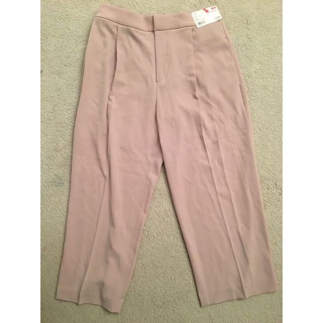 Uniqlo Pleated Culottes - Size M