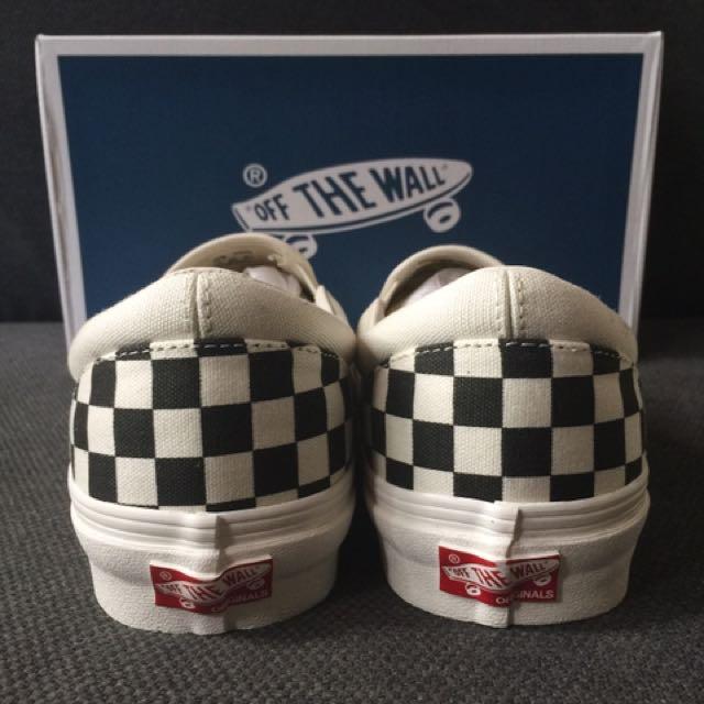 608423849b Vans Vault OG Classic Slip-On LX Checkerboard