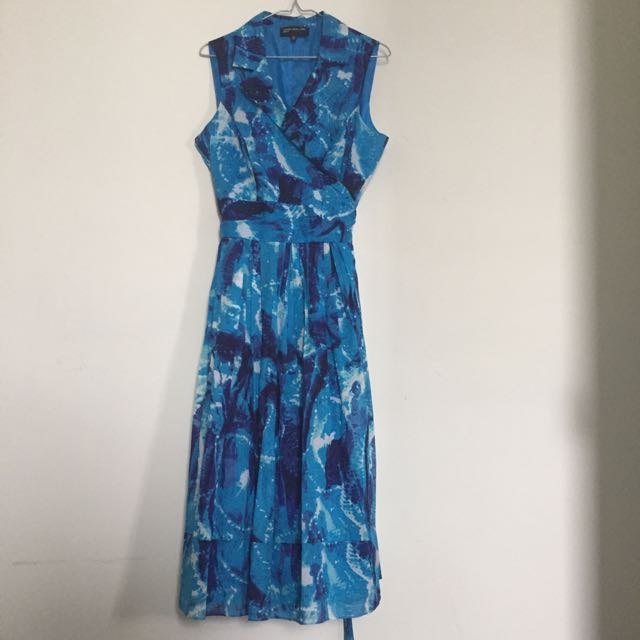 Vintage Hourglass Summer Dress With Cinched Waist