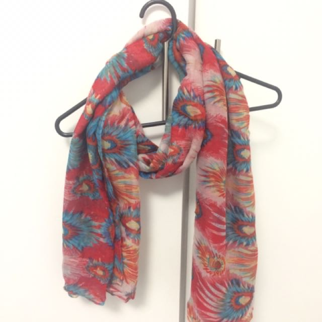 Warm Multi-coloured Scarf