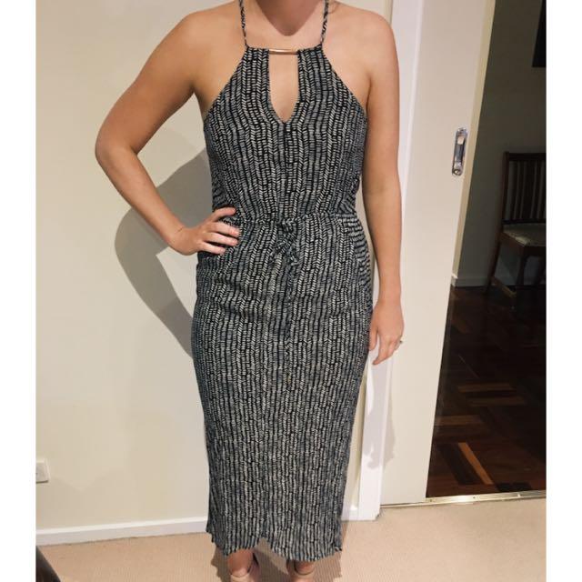 Wish Size 10 Maxi Print Dress