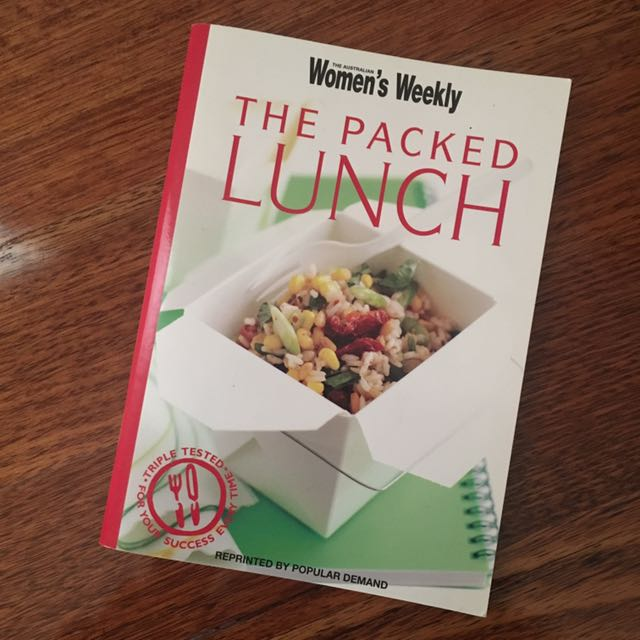 Women's Weekly The Packed Lunch