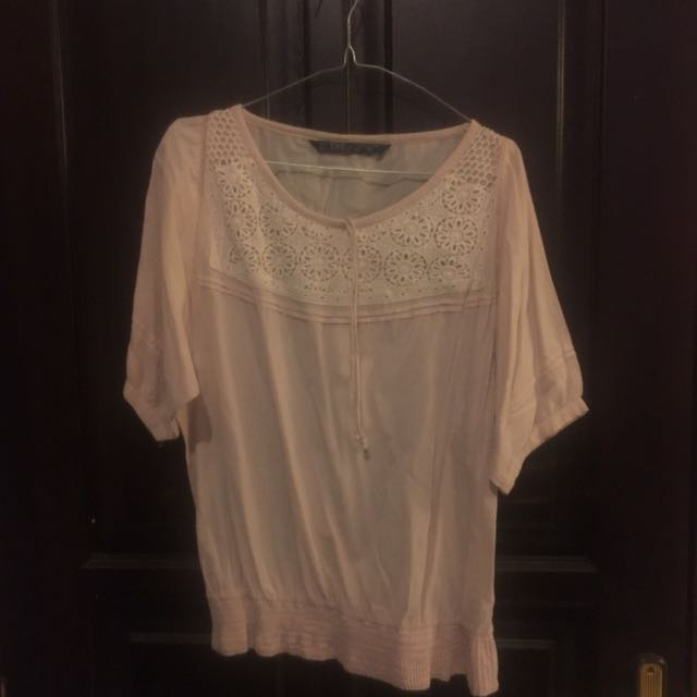 #clerancesale zara trf bohemian shirt