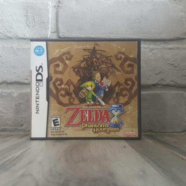 Zelda Phantom Hourglass For Nintendo Gameboy Ds Dsi 3ds