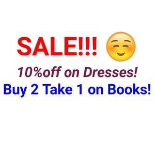 Items on Sale!!