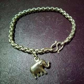 大象純銀手鍊