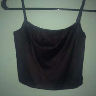 American Apparel Black Disco Top