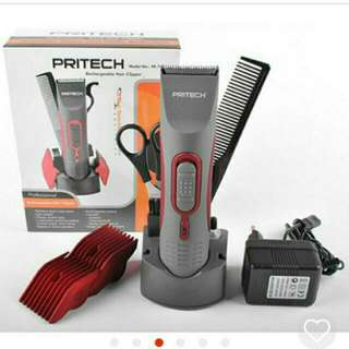 PRITECH®  Rechargable Hair Clipper Trimmer  PR-760 for Adults & Babies
