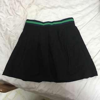 The Tinsel Rack Ttr Black Tennis Skirt W Pockets
