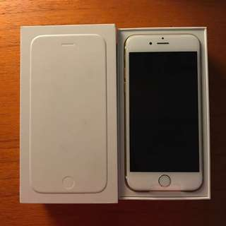 IPhone 6 Gold 64 GB New Bisa Nego