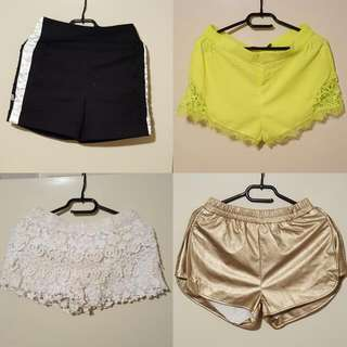 Size 8 shorts $5 each