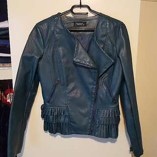 Brand new leather jacket Size 10
