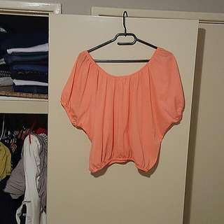 Size 12 off shoulder top