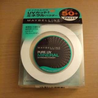 Maybelline 自然色防曬礦物粉餅
