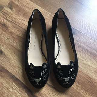 Charlotte Olympia Black And Gold