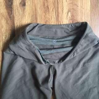 Lululemon Green Yoga Pant