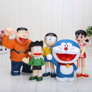 Pajangan Doraemon And Friends