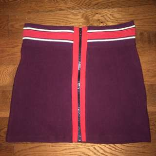 TopShop 70's Inspired Mini Skirt