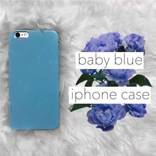 Baby Blue iPhone 6/6s Plus iPhone Case