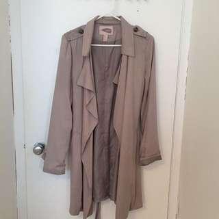 Forever 21 Light Trench Coat