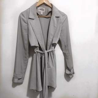 Forever 21 Chiffon Trench