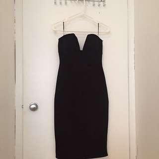 Sirens Black Bodycon Dress