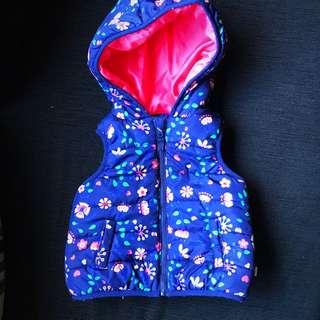 Floral Puffer Vest