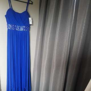 Pagani Brand New Blue Size 16 Dress