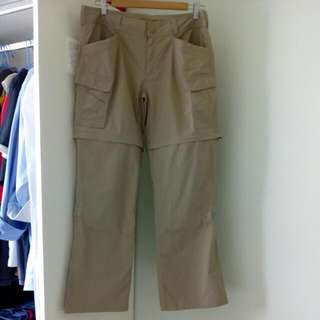 Authentic The North Face Convertible Women's Pants