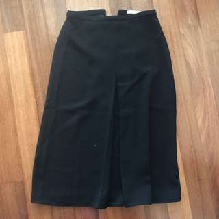 MNG Suit Black Skirt Size XS
