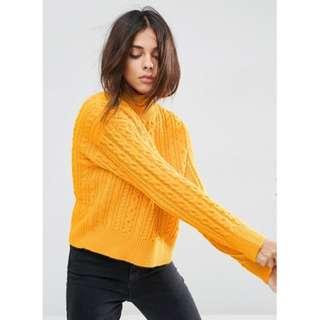 ASOS Marigold Super Soft Sweater (Size 6)