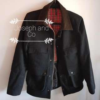 DANGERFIELD Black Coat Size S #EOFYSALE