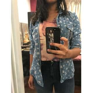Cocolatte Floral Printed Shirt (Size 12)