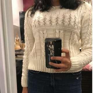 LOVELYGIRL White Super Soft Sweater L