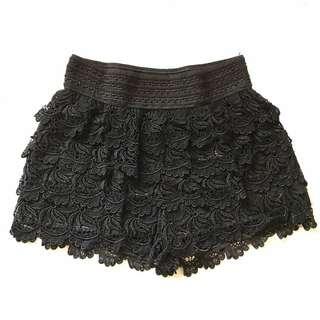 🚚 #兩百元短褲 黑蕾絲短褲