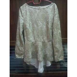 Zalia Gold Top (M)