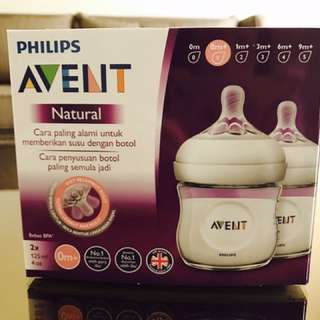 Phillips Avent Bottle Natural TWIN Pack