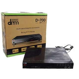 DRM Megapro D-700 DVD Multimedia Player