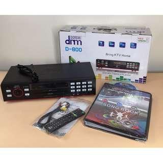 DRM Megapro D-800 DVD Multimedia Player