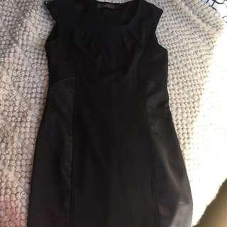 Work Dress Black Small