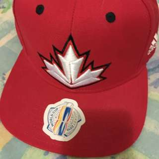 Adidas Hockey World Cup snapback red cap