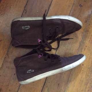 Original Lacoste high-cut Shoes