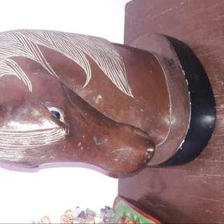 1931 Vintage Antique Horse Head Display.10-20kilos Weight..20k Price