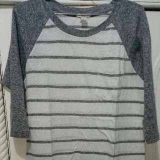 Baju Panjang Stripes Forever 21