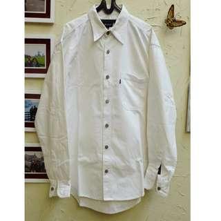 Kemeja Jeans DKNY, putih..