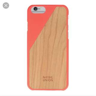 Native Union CLIC Wooden Iphone 6/6s