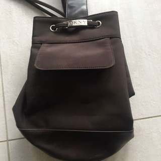 Authentic DKNY backpack