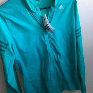 Adidas Weatherproof Running Jacket Sz L